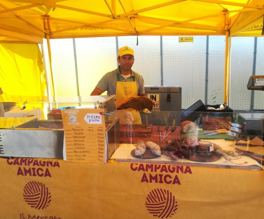 Mercato di Campagna Amica - Via Spallanzani
