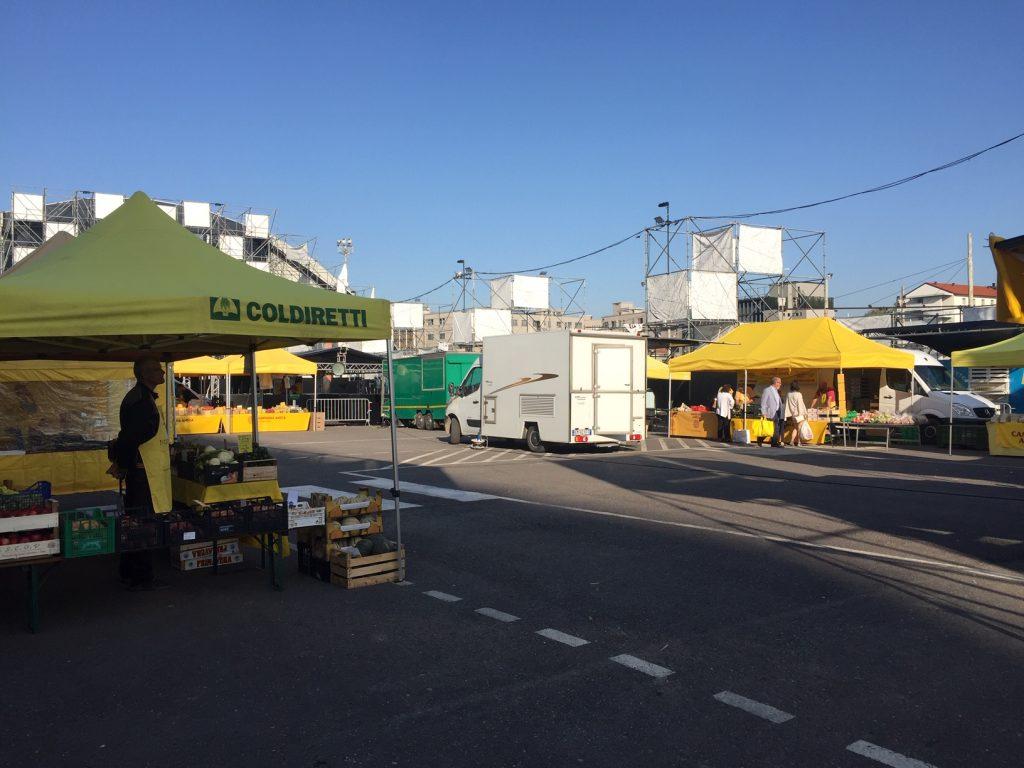 Mercato di Campagna Amica di Via Lorenzini a Milano