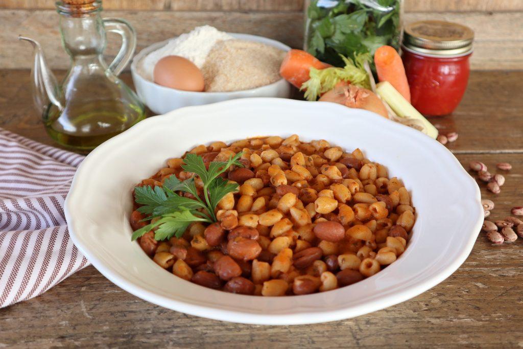 Pisarei e fasò, piatto tipico dei contadini emiliani