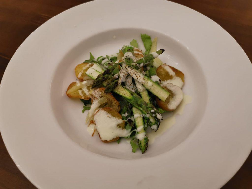 Antipasto di asparagi