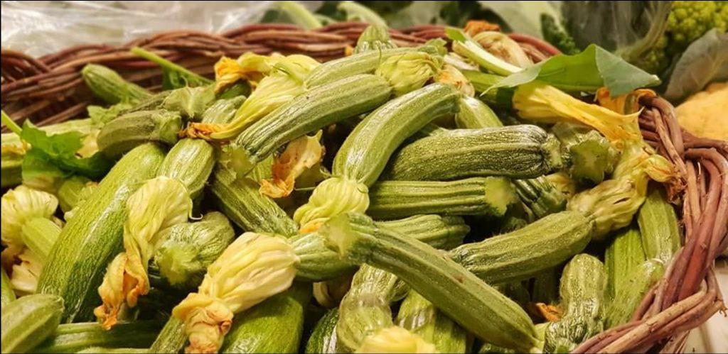 Zucchina, una miniera di acqua e sali minerali