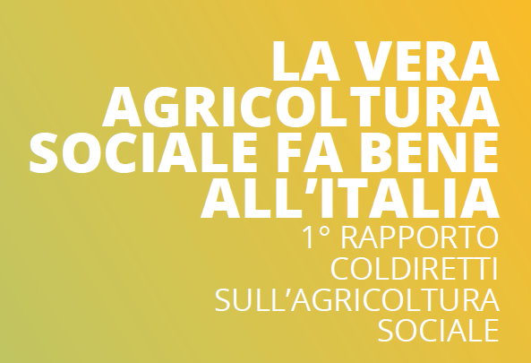 Agricoltura Sociale - Abstract