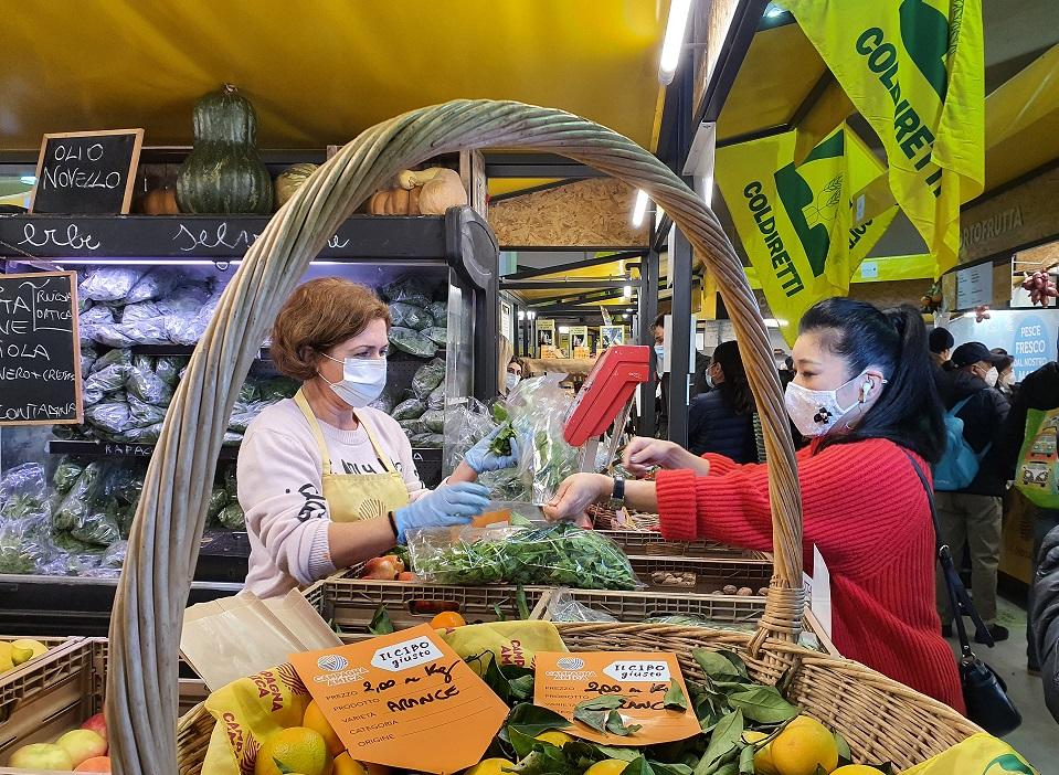 Made in Italy, è boom per i mercati contadini