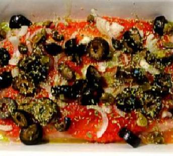 La ricetta di agosto: palamita alla mediterranea