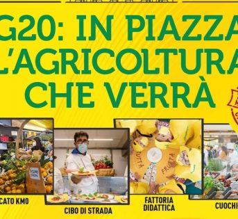 G20 Firenze, in piazza l'Agricoltura che verrà